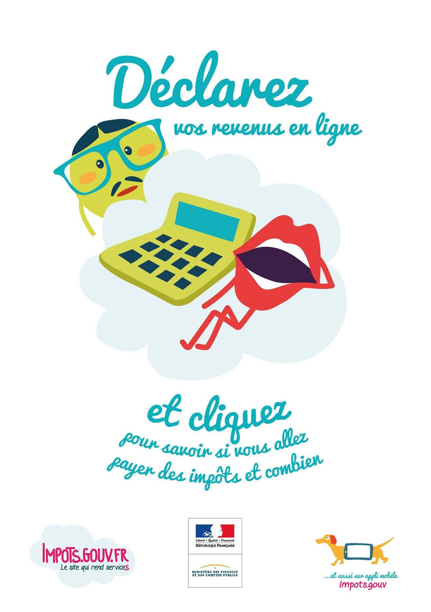 Déclarer vos revenus en ligne
