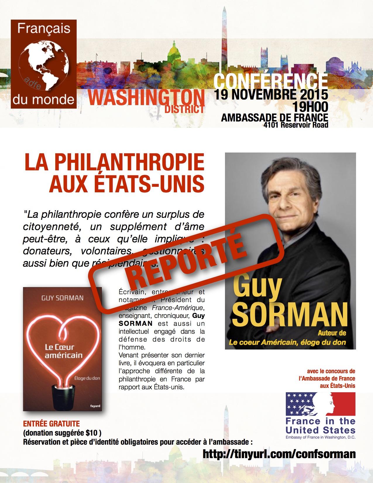 Reporté_affiche conférence Guy Sorman 191115